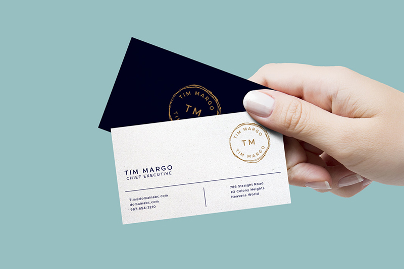 Creative & professional business card design